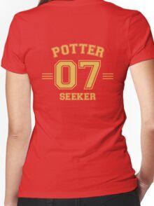 Potter - Seeker Women's Fitted V-Neck T-Shirt