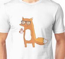 Fox & coffee Unisex T-Shirt
