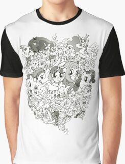 My Little Pony - mid Season 2 Groupshot Graphic T-Shirt