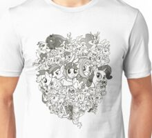 My Little Pony - mid Season 2 Groupshot Unisex T-Shirt