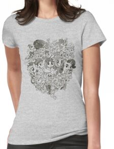 My Little Pony - mid Season 2 Groupshot Womens Fitted T-Shirt