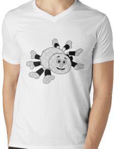 Wooly Mens V-Neck T-Shirt