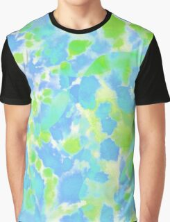 spray painted watercolor Graphic T-Shirt