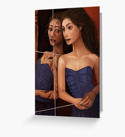 The Mirror Greeting Card