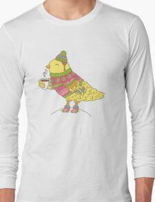Winter bird Long Sleeve T-Shirt