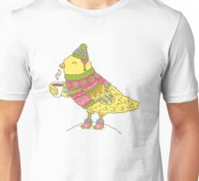 Winter bird Unisex T-Shirt