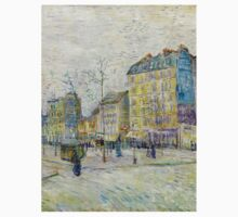 1887-Vincent van Gogh-Boulevard de Clichy One Piece - Short Sleeve