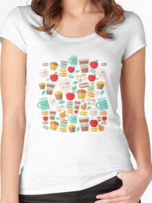 yum yum Women's Fitted Scoop T-Shirt