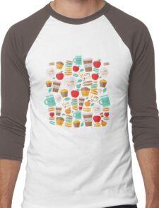 yum yum Men's Baseball ¾ T-Shirt