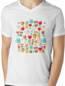 yum yum Mens V-Neck T-Shirt