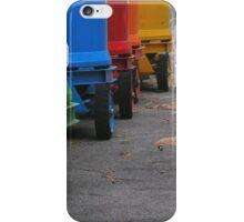 Rainbow on wheels iPhone Case/Skin