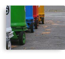 Rainbow on wheels Canvas Print