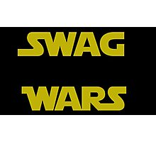 star wars- Swag Wars Photographic Print