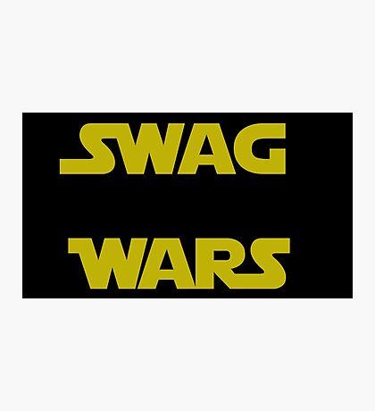 star wars- Swag Wars Photographic Print