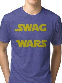 star wars- Swag Wars Tri-blend T-Shirt