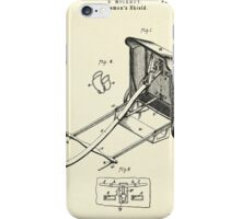Fireman´s Shield- 1879 iPhone Case/Skin