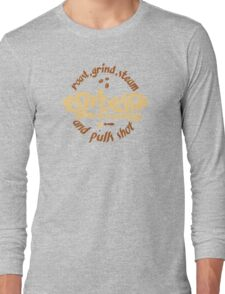 Espresso Brewing Long Sleeve T-Shirt