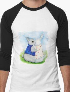 two Bunny hug Men's Baseball ¾ T-Shirt