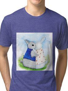 two Bunny hug Tri-blend T-Shirt