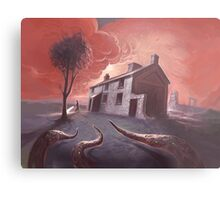 Isolated House Metal Print