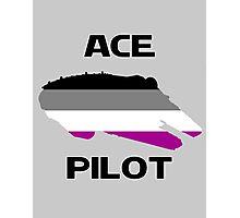 Ace pilot Photographic Print