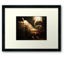 Unexplained Disappearance Framed Print
