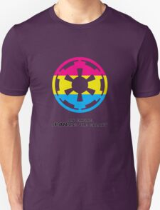 sPANning the galaxy Unisex T-Shirt
