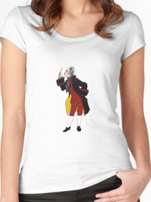 Rococo conoisseur Women's Fitted Scoop T-Shirt