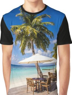 Postcard from Vilamendhoo in the Maldives Graphic T-Shirt