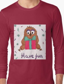 Funny own Long Sleeve T-Shirt