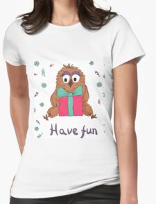Funny own Womens Fitted T-Shirt