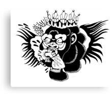Conor Mcgregor Chest Tattoo Stencil (clean) Canvas Print