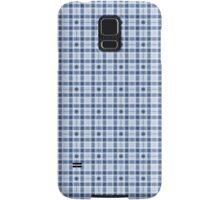 Blue Retro Geometry Samsung Galaxy Case/Skin