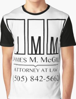 James M. McGill Graphic T-Shirt