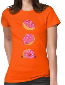 Doughnuts Womens Fitted T-Shirt