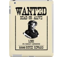 WANTED: LINK iPad Case/Skin