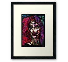 Sister Nyx Framed Print