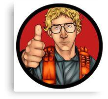 MATT The Radar Technician - Adam Driver SNL Star Wars Canvas Print