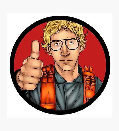 MATT The Radar Technician - Adam Driver SNL Star Wars Photographic Print