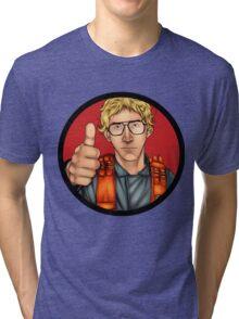 MATT The Radar Technician - Adam Driver SNL Star Wars Tri-blend T-Shirt