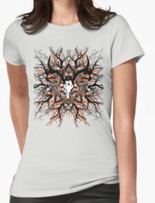 Pagan mandala 2 Womens Fitted T-Shirt