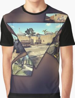 CS:GO Maps Graphic T-Shirt