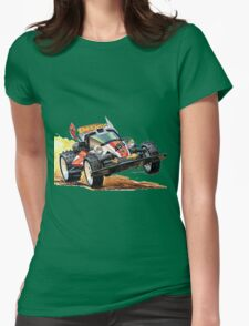 yonkuro Womens Fitted T-Shirt