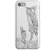 I love birds iPhone Case/Skin