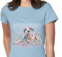 Dalmatian Puppy  Womens Fitted T-Shirt