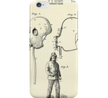 Fireman´s Mask-1889 iPhone Case/Skin