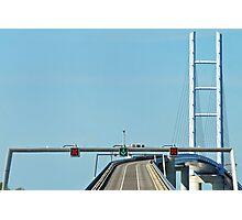 Ruegen - Stralsund bridge - Germany Photographic Print
