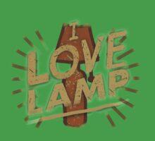 I love lamp Baby Tee