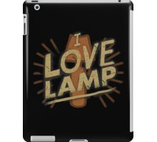 I love lamp iPad Case/Skin