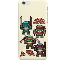 Teenage Turtle Pizza Party iPhone Case/Skin